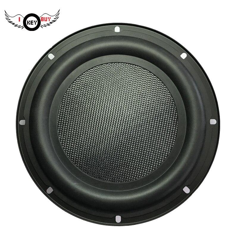 1 PC bricolage 12 pouces haut-parleur caoutchouc Altavoz Portatil radiateur passif auxiliaire basse Boost colonne haut-parleurs avec cadre pour la musique