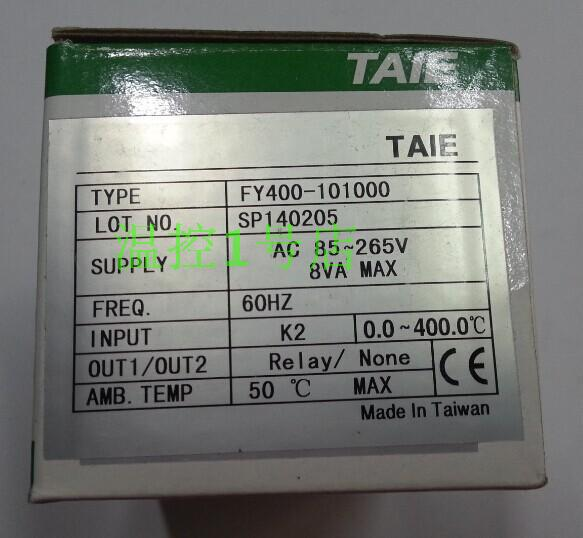 TAIE FY400 thermostat temperature control table FY400-101000 electronic temperature controller taie thermostat fy400 temperature control table fy400 301000
