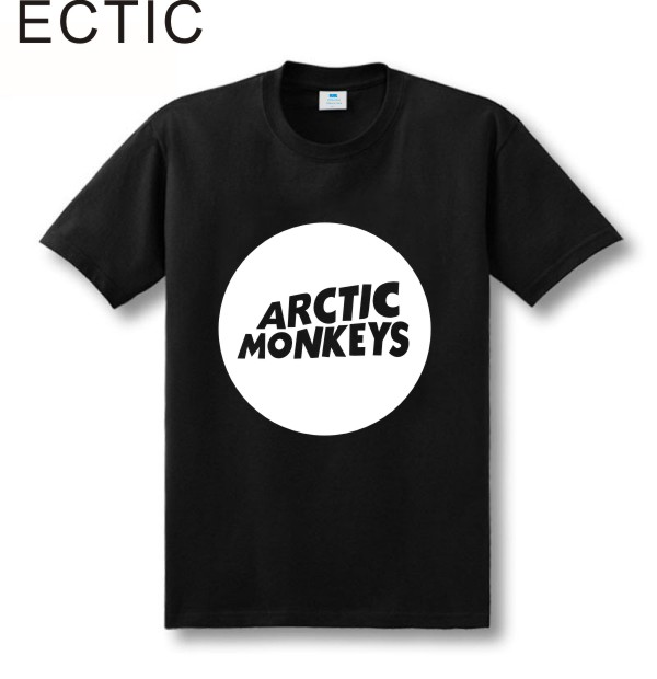 Zweite Tötung Arktische Affen Druckt-shirt Männer Kurzhülse 100% - Herrenbekleidung - Foto 1