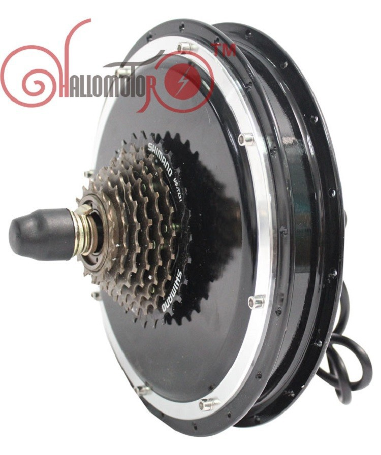 ConhisMotor Ebike Rear Hub Motor 36V 48V 1500W Width 145mm with Gear Electric Bicycle Brushless Gearless Cycling Conversion Kits eunorau 48v500w electric bicycle rear cassette hub motor 20 26 28 rim wheel ebike motor conversion kit