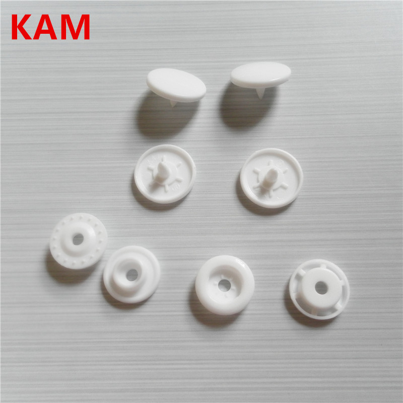 Chenkai T5 20000sets Glossy Original KAM Plastic Snaps Buttons for Sewing baby diaper Resin Press Poppers