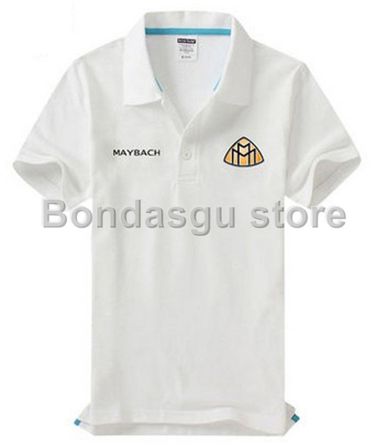 Brand Clothing Maybach Polo Shirt Solid Casual Polo Homme For women and men  Tops High Quality Cotton 9dc69fc56a