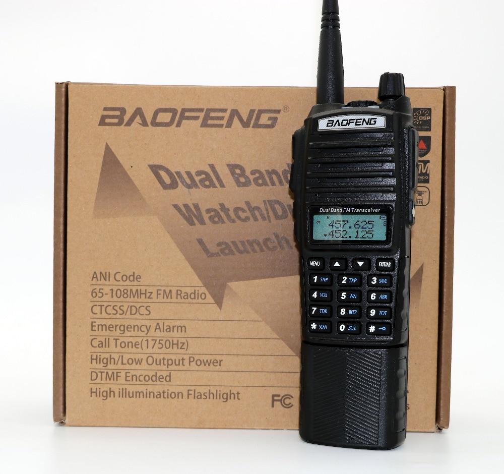 BaoFeng UV-82HK Talkie Walkie avec 3800 mAh Batterie longue 128CH VHF UHF UV-82 8 W Portable cb Radio Même comme UV-82HX Émetteur-Récepteur