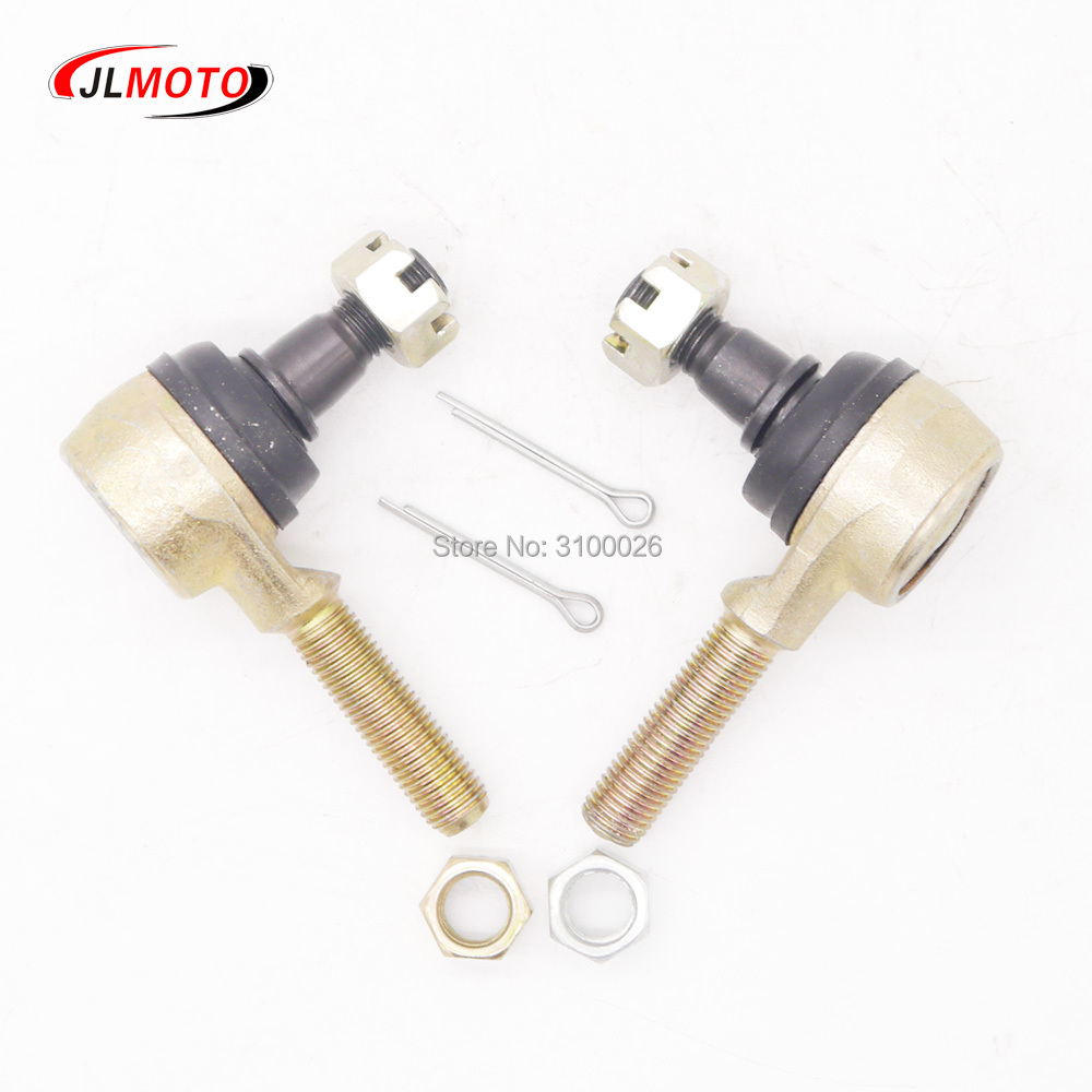 Kawasaki KLF 250 Bayou 250 Inner and Outer Tie Rod Ends Both Sides