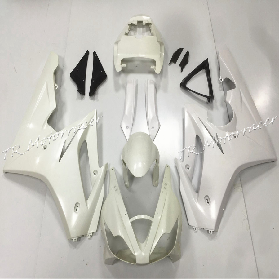 Motorcycle White Unpainted Injection Fairing Bodywork Set For Triumph Daytona 675 2006 2007 2008 aftermarket free shipping motorcycle parts eliminator tidy tail for 2006 2007 2008 fz6 fazer 2007 2008b lack