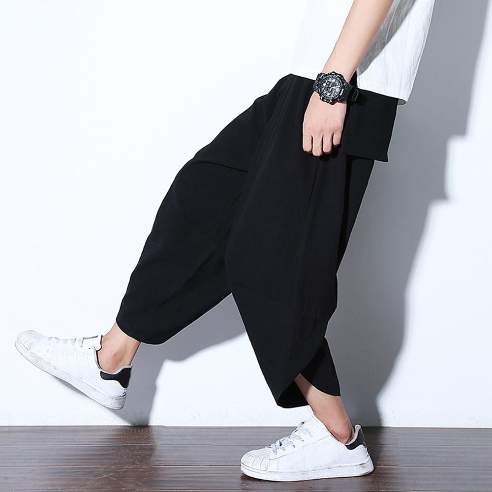 Cotton Men Fashion Casual Pants  1