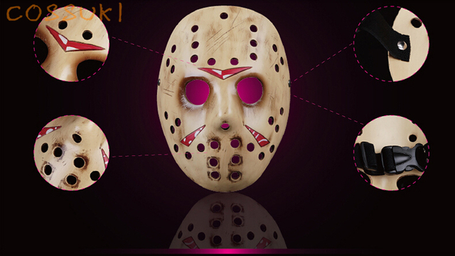 halloween movie freddy vs jason collector edition jason voorhees mask cosplay props