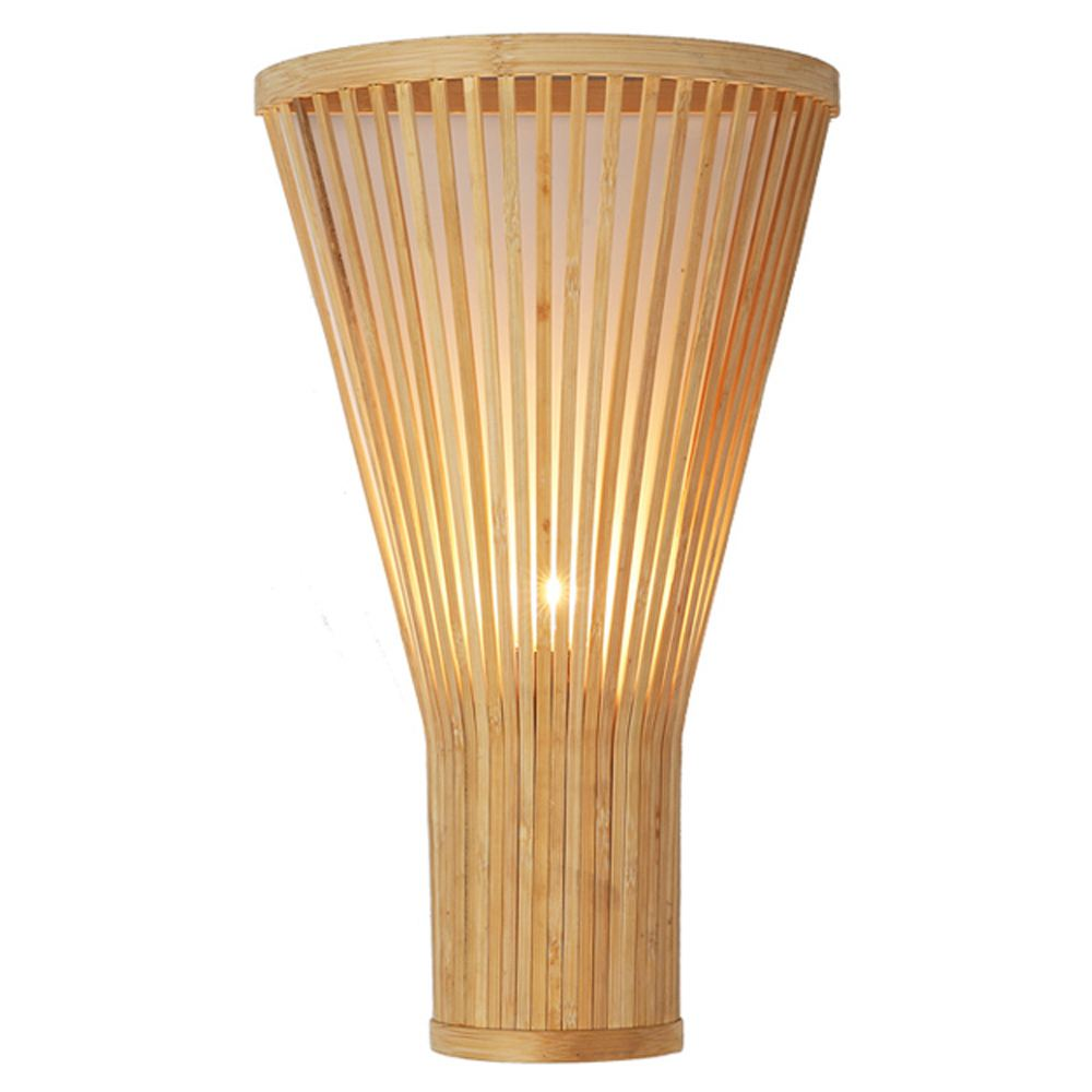 Southeast Asian Bamboo Fan Corridor Wall Lights Handmade Craft Hotel Stair Case Tatami  Wall Sconces Hallway Bedroom LampSoutheast Asian Bamboo Fan Corridor Wall Lights Handmade Craft Hotel Stair Case Tatami  Wall Sconces Hallway Bedroom Lamp