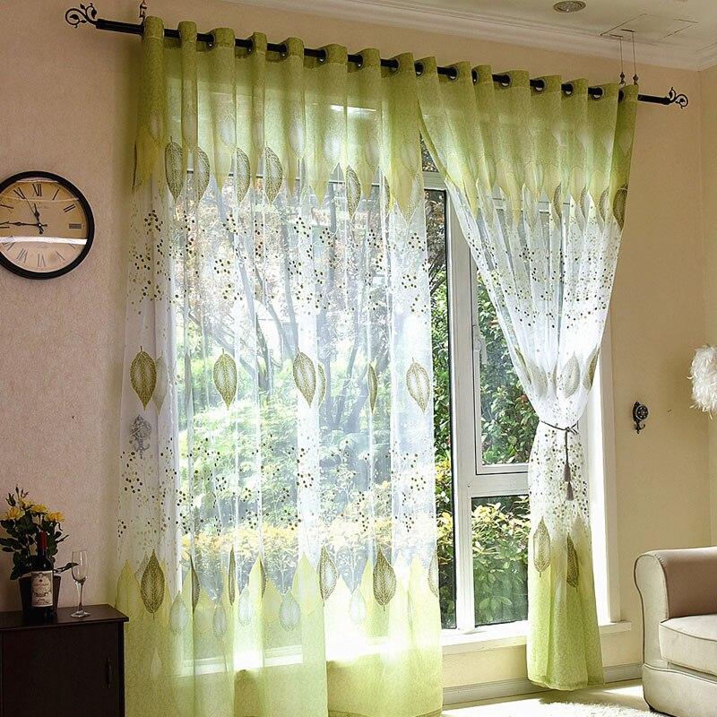 Tende finestre cucina fiore verde tende per soggiorno - Tende per soggiorno cucina ...