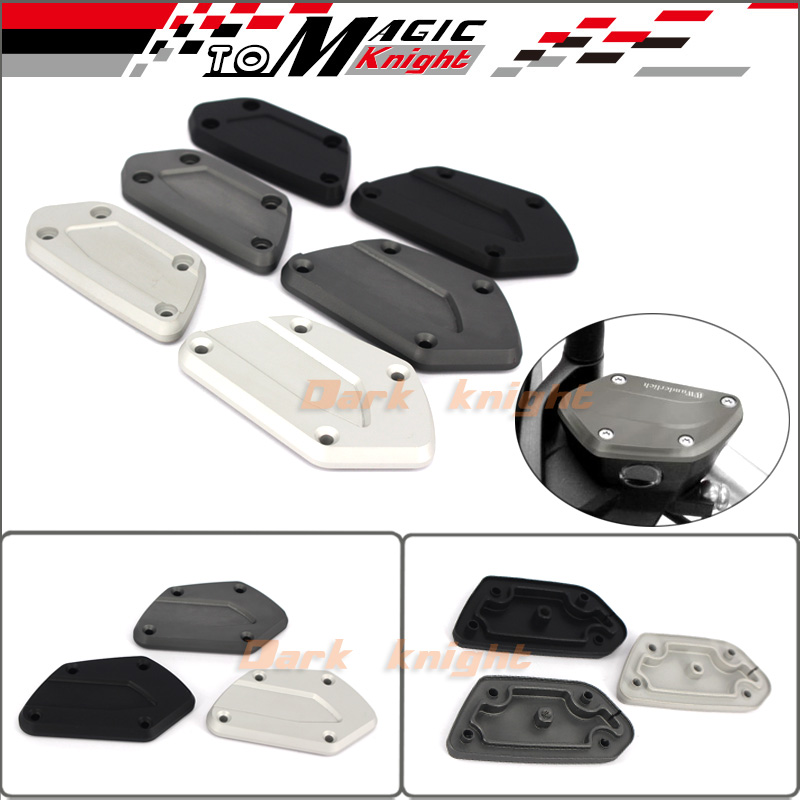 ФОТО Motorcycle CNC Aluminum Front Brake Clutch Reservoir Cover Caps For BMW R NineT R1200GS LC 2013-2016. R1200R RS LC 2015-2016