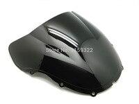 Motorcycle Parts Smoke Black Double Bubble Windscreen Windshield For Honda Cbr 600 F4 1999 2000