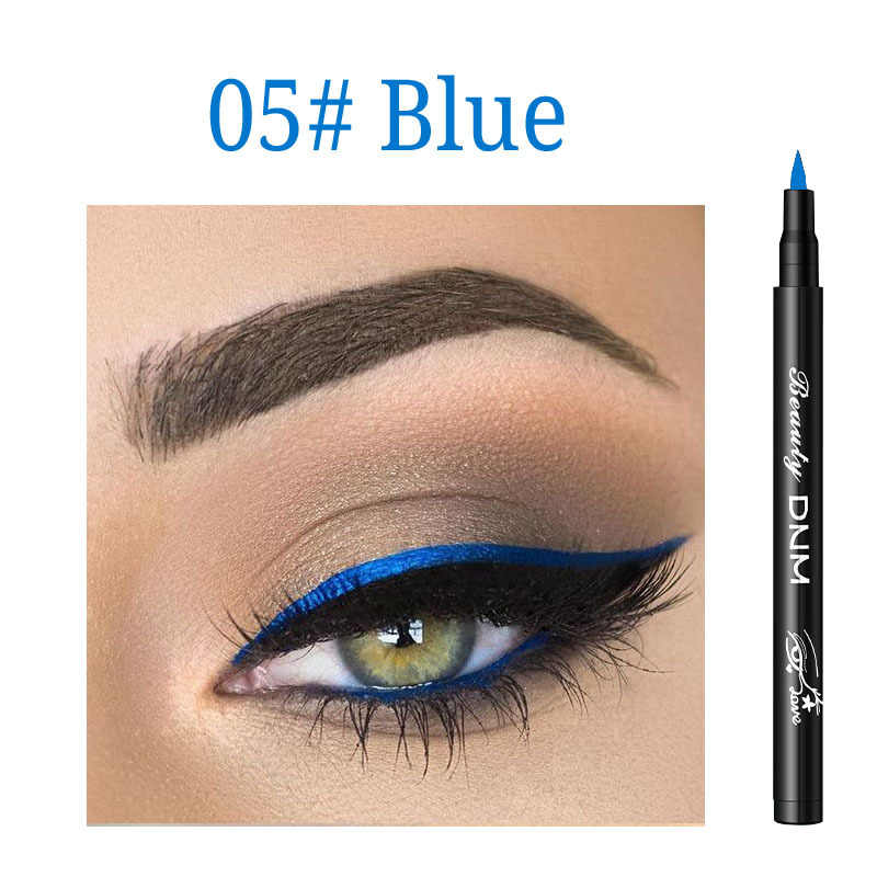 NEW 12 Colors Eyeliner Pencil Extra slim Waterproof Eye's makeup Pen Long-lasting Liquid Eye Liner Smooth Make Up Beauty Tools