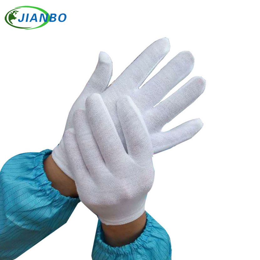12 Pairs White Cotton Gloves Kids Work Dance Etiquette  Waiters Performance Dancing Show Games Gymnastics Flag Gloves Children