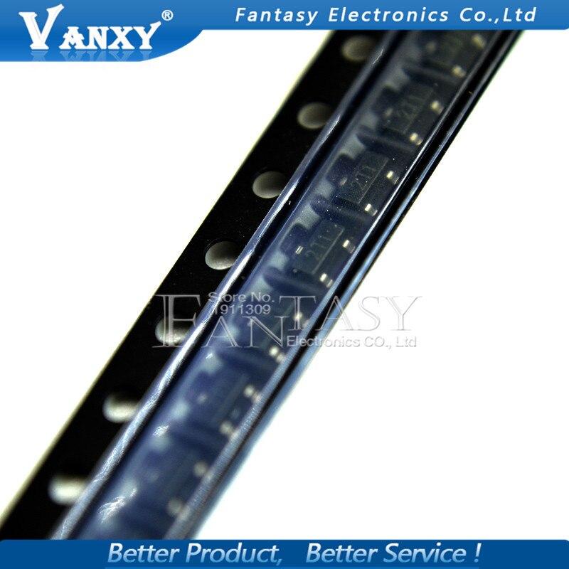 100PCS S9012 SOT23 9012 SOT SMD 2T1 SOT-23 New Transistor