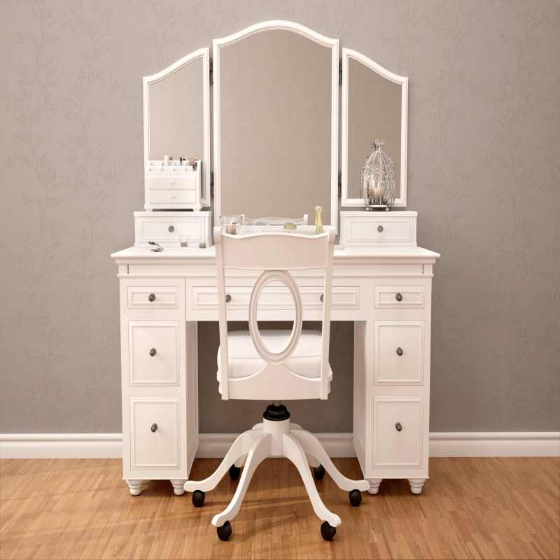 Laeacco Old Boudoir Interior Dressing Table Chair Girl Photography Background Customized Photographic Backdrops For Photo Studio