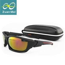 Zuan Mei Sport Sunglasses Men Polarized Sun Glasses font b Gafas b font De font b