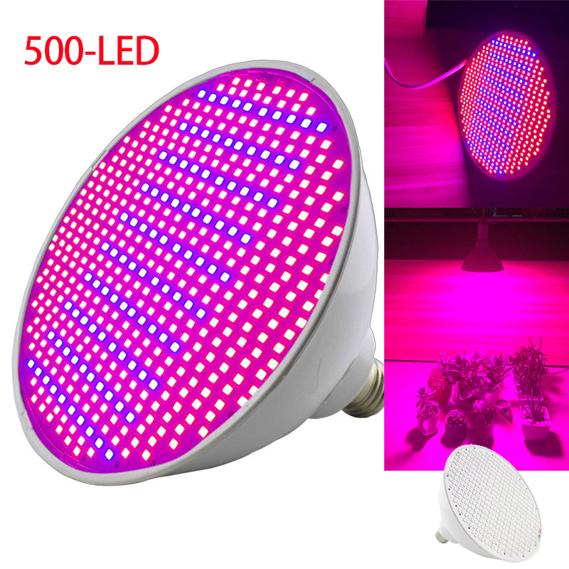 500 Led Grow Light Bulb For Flower Plant Seedling Vegetable Growing Bulbs Green House Indoor Greenhouse Plants Growth Lamp
