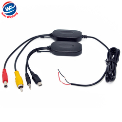 2.4G wireless transmitter  2.4G wireless receiver for Car GPS  portable GPS Handheld GPS  back up Reverse Rear View Camera