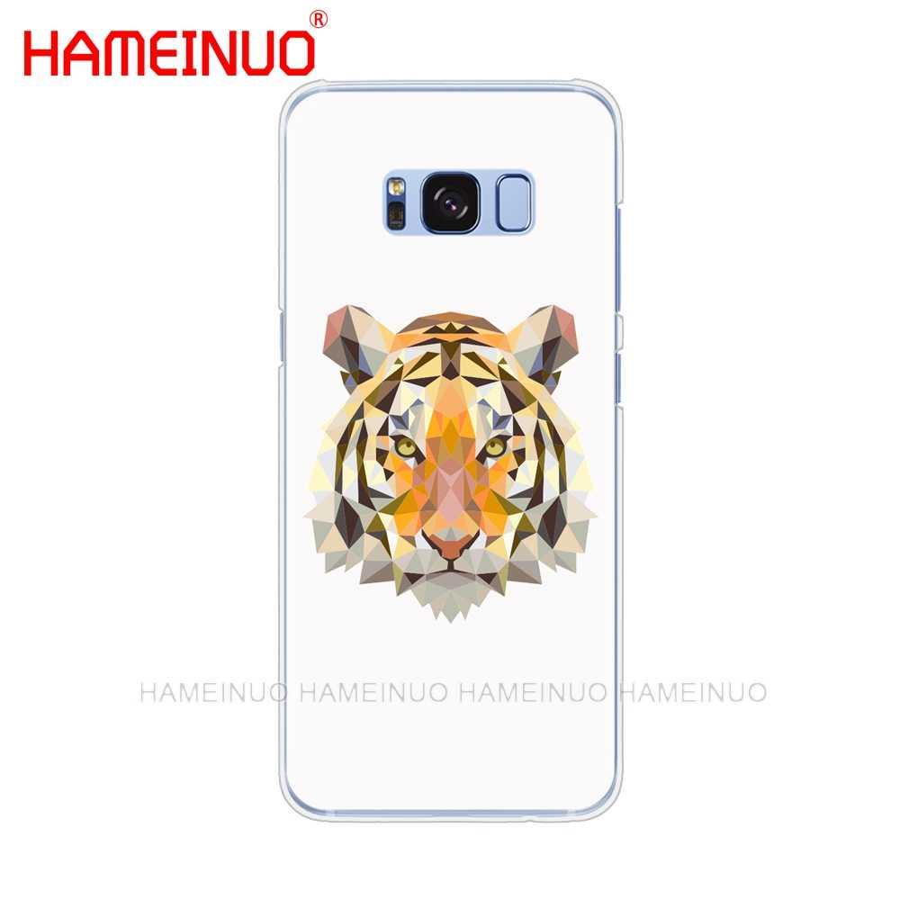 HAMEINUO 動物虎携帯電話ケース三星銀河 S9 S7 エッジプラス S8 S6 S5 S4 S3 ミニ