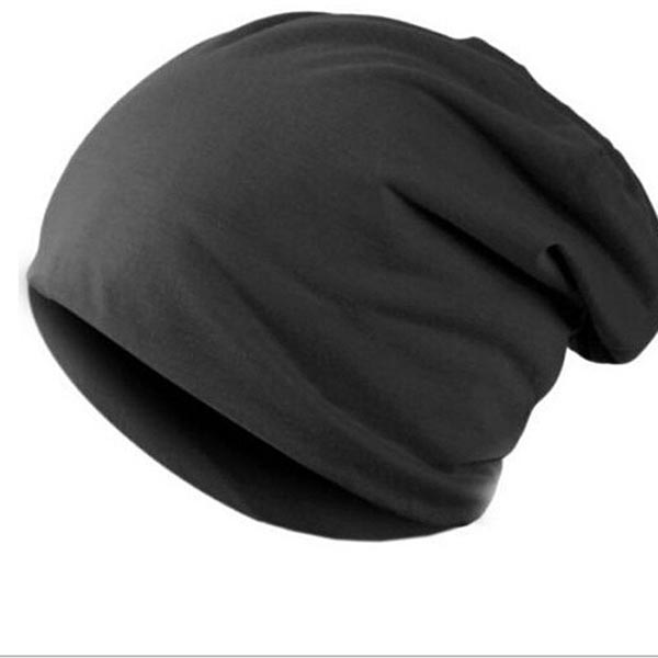 Skullies - Hot Sale Candy-colored Knit Cap Sleeve Head Cap Hip-hop Tide Baotou Cap #1866717 skullies