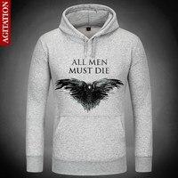 Game Of Thrones Dark Hints Death Hoodies Hoody Pullover Sweatshirt Sport Sweatshirts Outerwear Clothes Coat Three