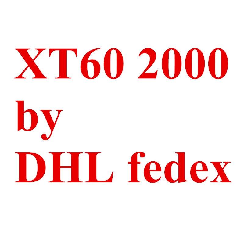 От Fedex DHL XT60 2000 пара/лот штекерные разъемы 20% скидка