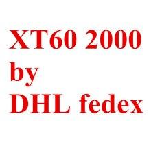 Por Fedex DHL XT60 2000 par/lote hombre conectores hembra de 20%