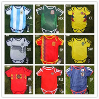 Infant Romper Baby Soccer Uniform Football Clothes For Baby Memorable Photo Props