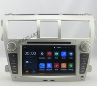 Quad core 1024*600 HD screen Android 9.0 Car DVD GPS radio Navigation for Toyota Vios, Yaris sedan 2007 2011