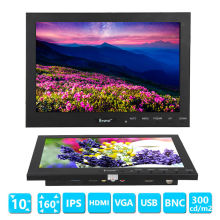 Eyoyo 10″ Inch TFT LED Video Audio VGA HDMI BNC USB HD Monitor Screen For DVR PC CCTV Free shipping