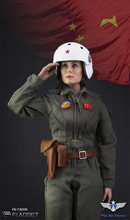 1/6 Scale Full set action figure FS-73006 Chinese Air Force Women Pilot Action Figure Toy Doll Toys Gift for Collection цена