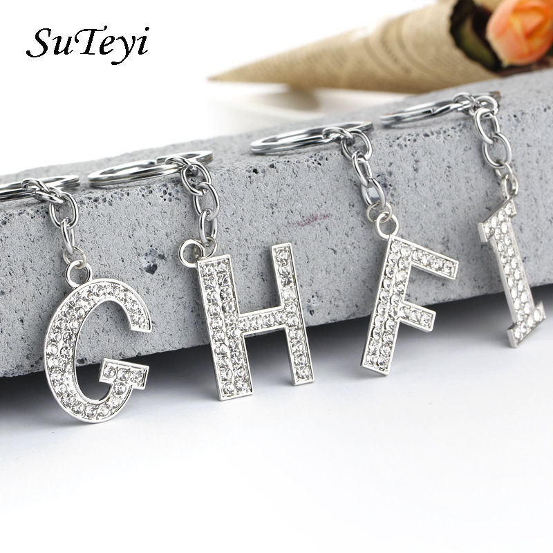 Aliexpress.com : Buy SUTEYI Unique S Z Rhinestone Pendant