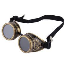 Goggles Steampunk Glasses Vintage Retro Welding Punk Gothic Sunglasses cartoon Fashion