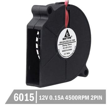 цена на 1 Piece Gdstime Brushless Cooling Cooler Fans 60*60*15mm 2Pin 6015S 60mm 12V DC Blower Fan