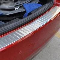 Stainless Steel Rear Bumper Sill Protector Trim Fit For Chevrolet Chevy Cruze