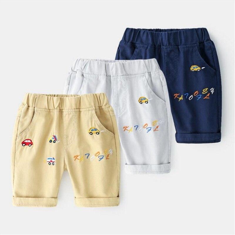 AJLONGER Verão Crianças Shorts Calcinhas de Algodão Shorts Para Os Meninos Calções Marca Criança Crianças Praia Calças Curtas de Esportes da Roupa Do Bebê