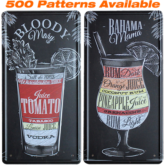 Bahama Mama ]Car American License Plate USA Vintage Home Decor Tin ...