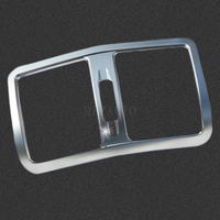 Car Styling High Quality ABS Chrome Rear air conditioning outlet decorative Trim Cover For Mercedes-Benz W210 W211 W212 E-class