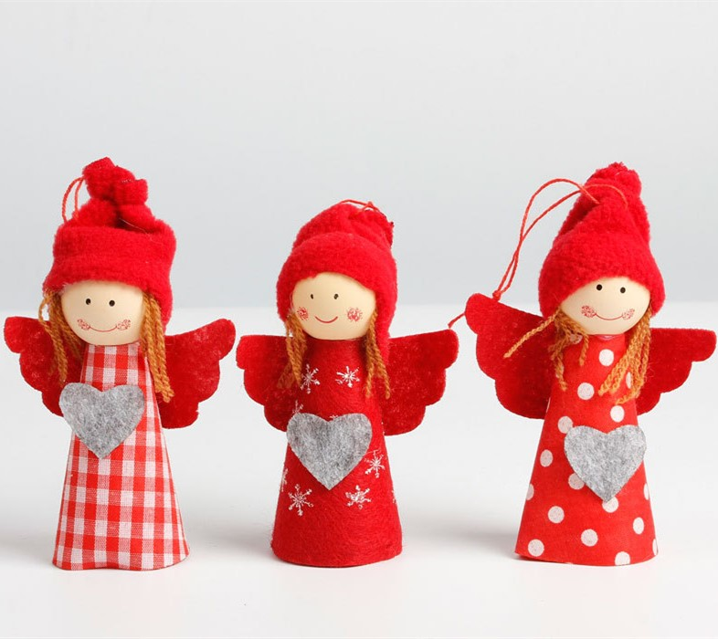 Girlfriend Christmas Gifts 2019: 2019 Christmas Cute Girl Christmas Tree Decoration Special