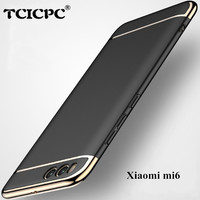 For Xiaomi Mi6 Case Cover TCICPC Brand Luxury 3 In1 Full Body Cover Hard Coque Phone