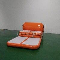 Бесплатная доставка воздуха трек Home Edition надувные Airtrack Обучающий набор для дома Применение Sealed Air трек с роликом бесплатная один насос