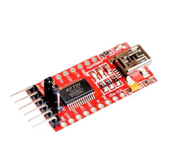 Envío gratis FT232 FT232RL FTDI USB 3.3 V 5.5 V a TTL Módulo Serial Adapter Mini Puerto