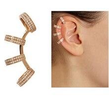 Women Earrings Cuffs Punk-Jewelry Love-Ear-Jacket Clip Fashion 1pcs for Wholesale