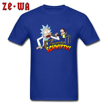 Schwifty Ricky Midnight Loud Singing Hip Hop Rock Music T Shirt For Student New Listing Blue/Orange/Fuchsia Comic Mory Tshirt цена 2017