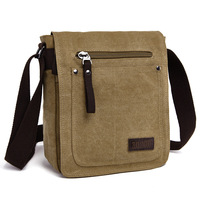 Hot New Arrive Men Canvas Bag Vintage Messenger Bag Brand Business Casual Travel Shoulder Bag Men