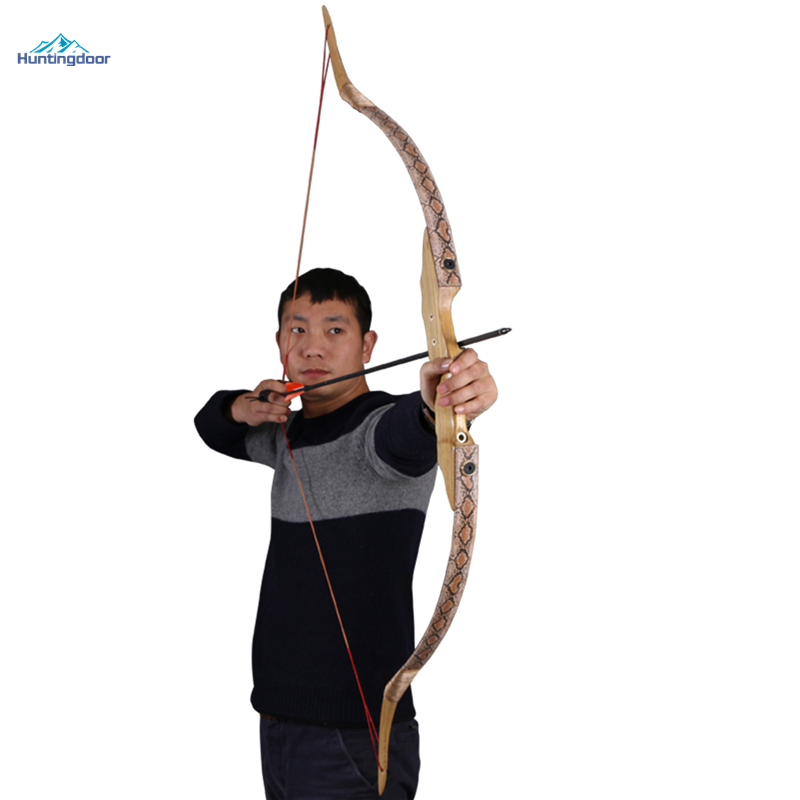 An outdoor hunting bow take down longbow RH 40lbs archery modern wooden recurve bow chinese ancient tradition of the revcurve bow of pure handmade outdoor archery hunting practice sport games wooden longbow gift