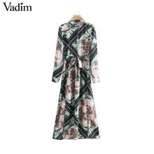 a0ac39b412b51 Buy vadim women vintage print and get free shipping on AliExpress.com