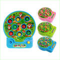 1pcs Electric music playing hamster child puzzle baby game machine play hamster game machine hit toys