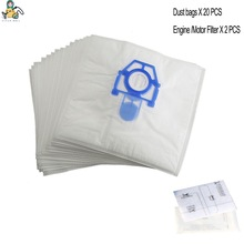 Replacement dust bag for ZELMER SAFBAG 49.4001 ZVCA100B 49.4000 49.4020 919.0 ST ZMB02X12K motor filter vacuum cleaner parts