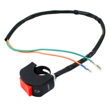 New Motorcycle Switch Waterproof Switch Modified Headlight Switch Clignotant Moto Fog Light Switch 2.2-2.5mm цены
